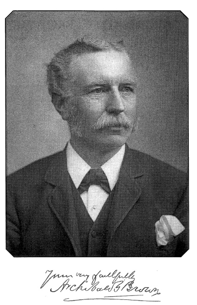 A picture of Archibald G. Brown (1844-1922), a baptist preacher.